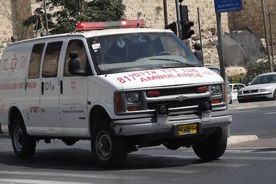 Magen David Adom ambulance, illustrative (Photo: Mattes)