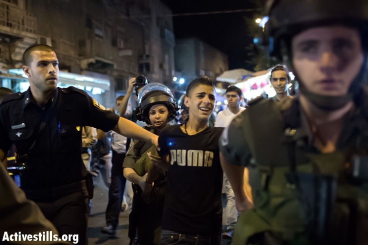 Anti-Prawer protests sweep the country: A week in photos - July 11-17