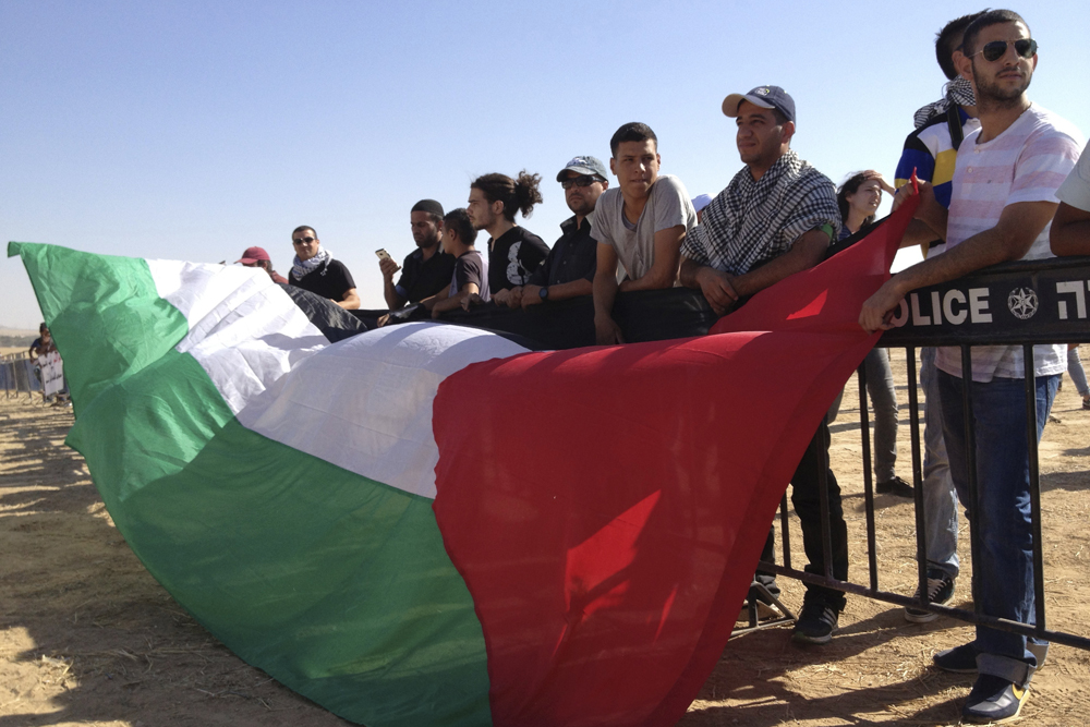 Hundreds protest Bedouin displacement in the Negev