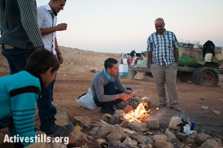 PHOTOS: Forced to live in a tent, Palestinian family celebrates Eid al-Adha
