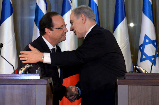 By all means, François Hollande, fill that Middle East void