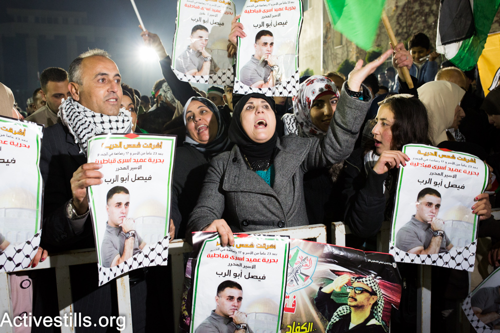 PHOTOS: Palestinians are released from Israeli prisons after 20 years