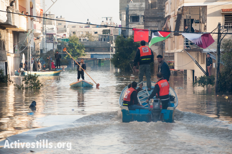 PHOTOS: Gaza's streets remain flooded a week after storm