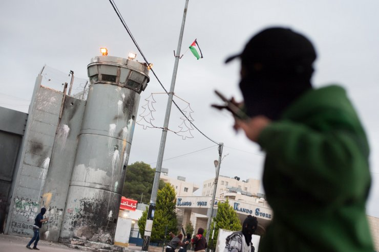 PHOTOS: Israeli forces shoot Palestinians with live fire in Bethlehem