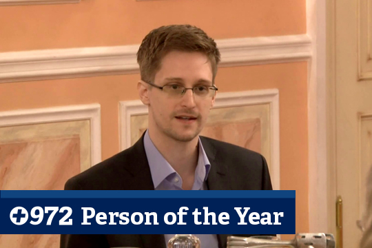 +972's Person of the Year: Edward Snowden