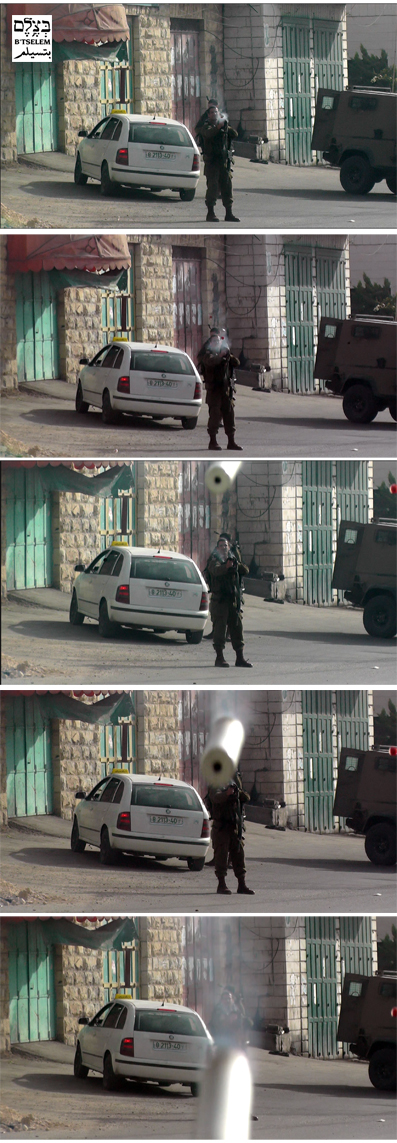 WATCH: IDF officer fires tear gas directly at photographer