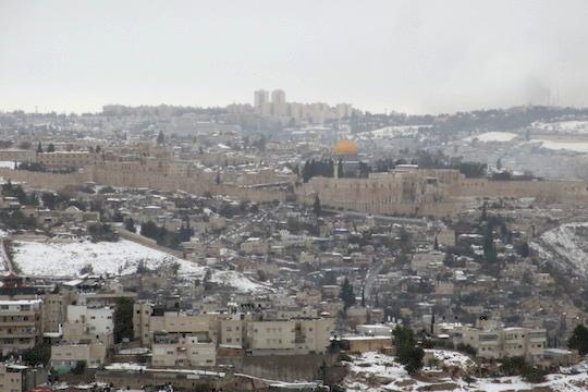 First Person: A weekend in 'besieged' Jerusalem