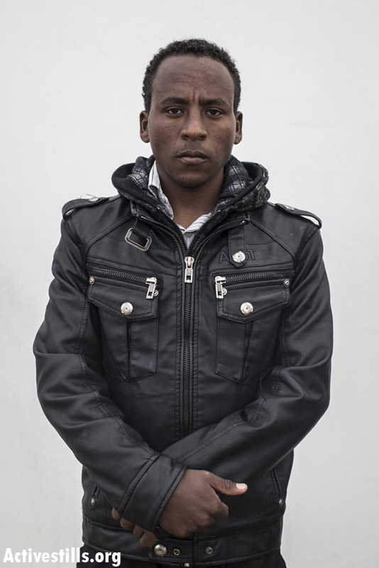 Araya Fishazion, from Eritrea, 1.5 years in Saharonim prison.
