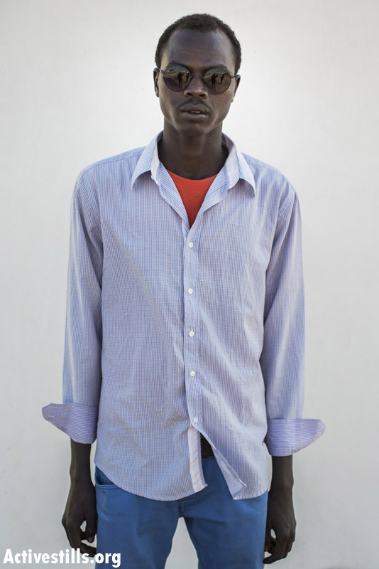 G.H.I.Y, from Gezira, Sudan, on year and three months in Saharonim prison.