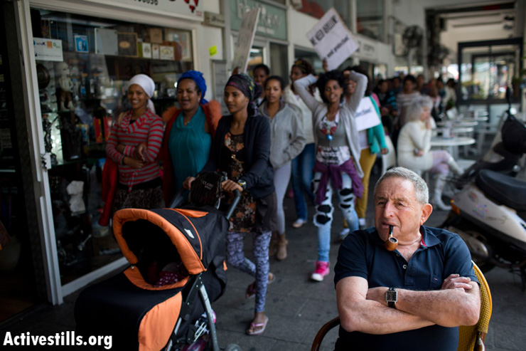 PHOTOS: African women march for their rights in Tel Aviv