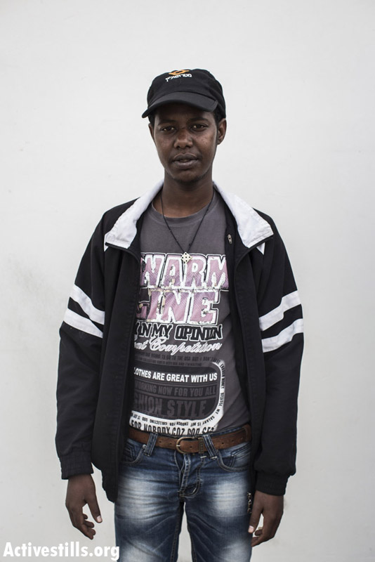 Solomon Hagos, from Eritrea, two years in Saharonim prison.