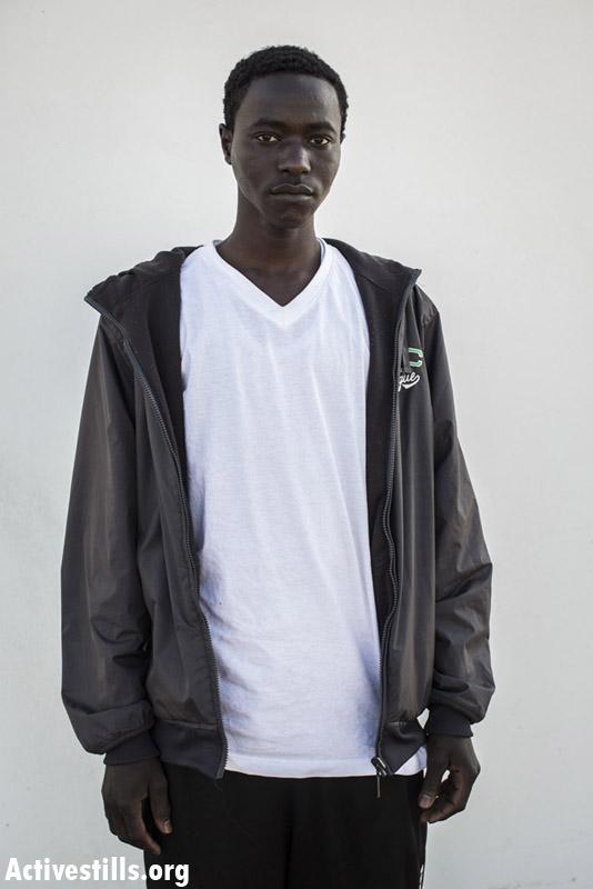 S.Y.A.J, from Niala, Darfur, 16 months in Saharonim prison.