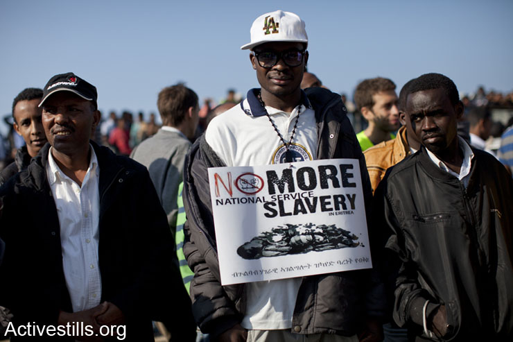A week in photos: African asylum seekers strike for their rights