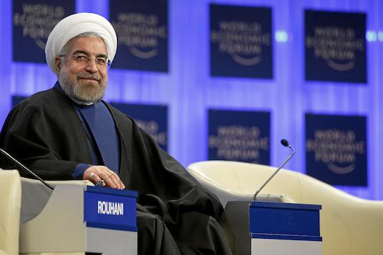 Iranian President Hassan Rouhani. (World Economic Forum)