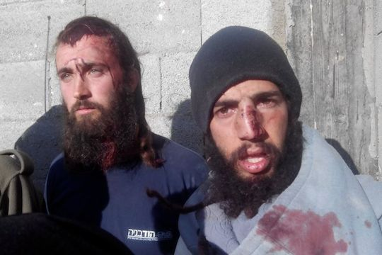 Palestinians catch settlers allegedly attempting a 'price tag' attack