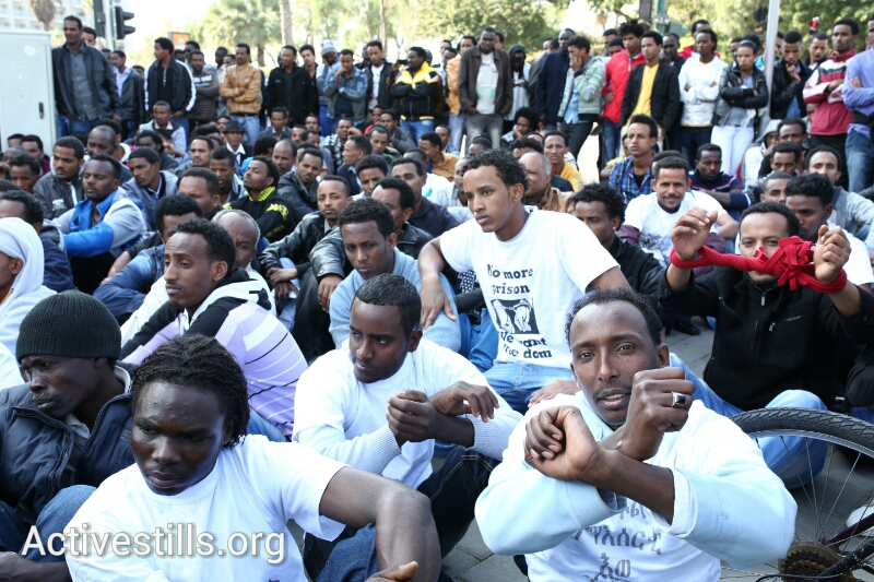 Day 2 of African asylum seeker protest: What do they want?