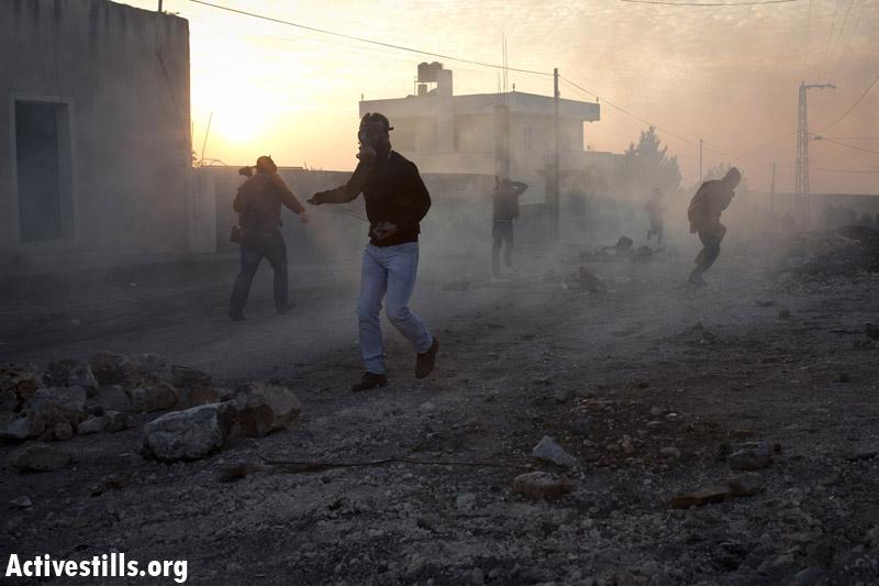 Elderly Palestinian man dies after alleged tear gas inhalation
