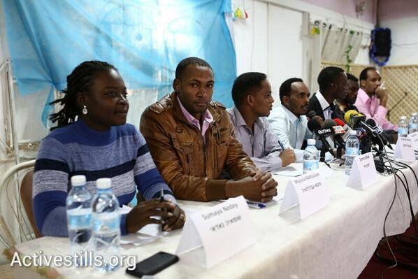 African asylum seekers: We will continue to strike until demands are met
