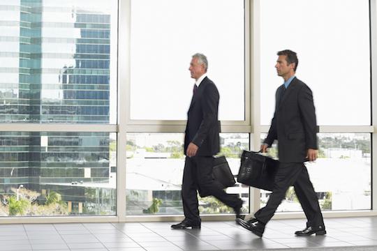 Illustrative photo of Ashkenazi businessmen. (Photo: Shutterstock.com)