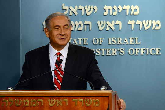 Israeli Prime Minister Benjamin Netanyahu. (Photo: Haim Zach/GPO)