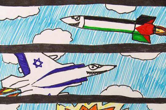 Comics by Ohad, age 11, from Sderot