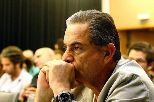 'Haaretz' journalist Gideon Levy (Photo by Yossi Gurvitz)