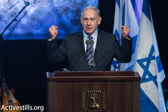 Prime Minister Benjamin Netanyahu. (photo: Activestills.org)