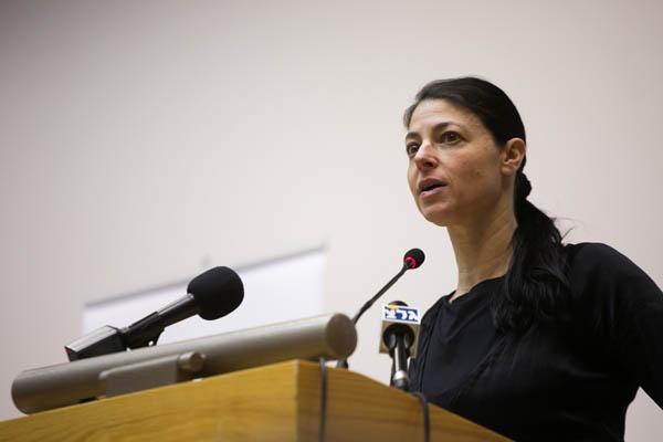 Zionist Union MK Merav Michaeli (Photo by Activstills.org)