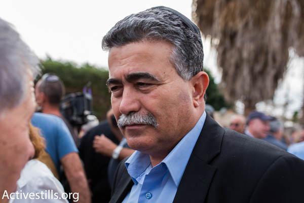 MK Amir Peretz of Hatnuah (Photo by Activestills.org)