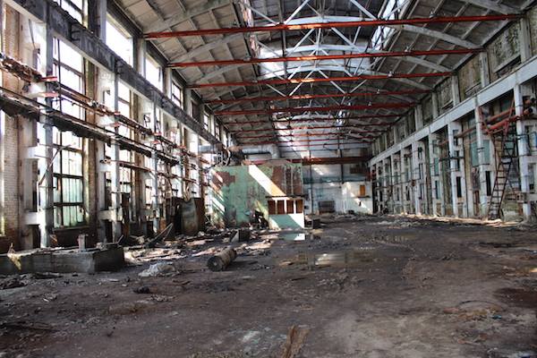 The agricultural machinery factory in Birobidzhan after privatization. (Photo by Yakov Rabkin)