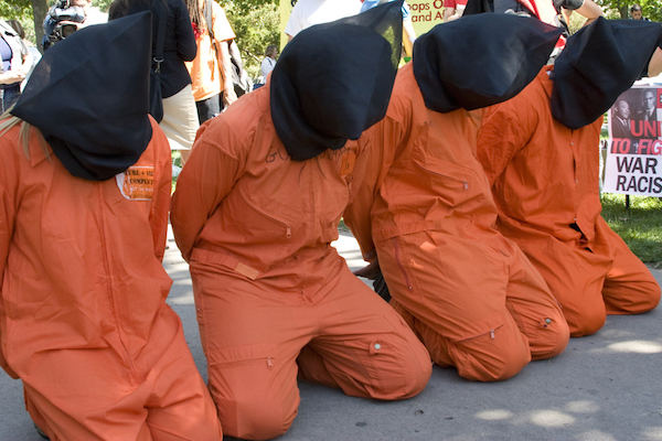 Illustrative photo of protests against Guantanamo (Photo by Lilac Mountain/Shutterstock.com)