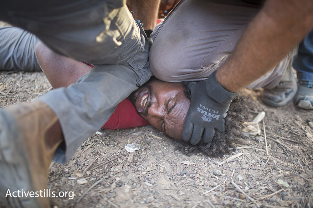 """Second place in the """"Curator's Choice"""" category. (Oren Ziv/Activestills.org)"""