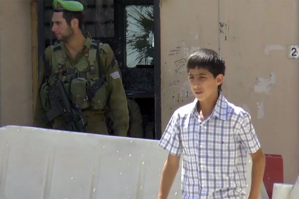 Still shot from Yuval Orr's film 'Khalil Helwa'