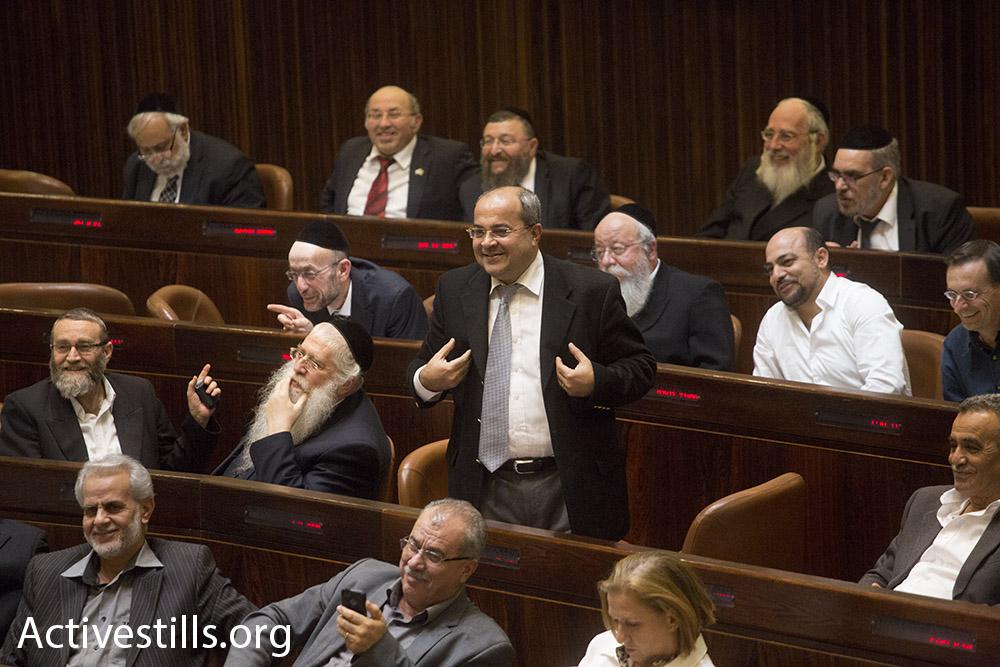 Ra'am-Ta'al MK Ahmed Tibi. (photo: Activestills.org)