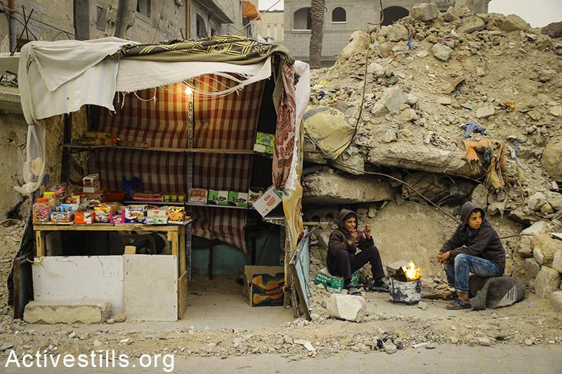 PHOTOS: War-ravaged Gaza faces winter storm
