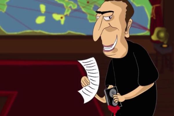 Screenshot from the Samaria Settler's Council video. (YouTube)