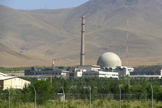 The heavy water reactor in Arak, Iran (Photo: Nanking2012, CC)