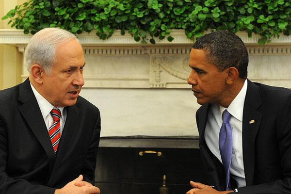 U.S. President Barak Obama meets with Israeli Prime Minister Benjamin Netanyahu in Washington (White House photo)