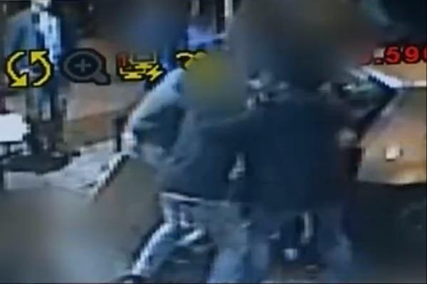 Jewish teens attack Palestinian in Jerusalem on Purim (Ch 10 screenshot)