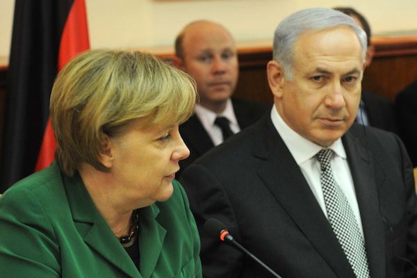Prime Minister Netanyahu and German Chancellor Angela Merkel meet in Jerusalem in 2011. (Photo: Avi Ohayun/GPO)
