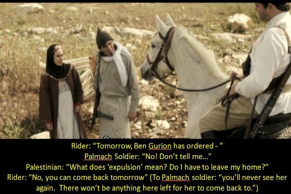 Nakba re-enacted on Israeli prime time