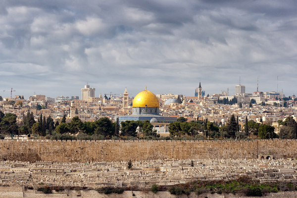 The Jerusalem skyline. (Photo by Shutterstock.com)