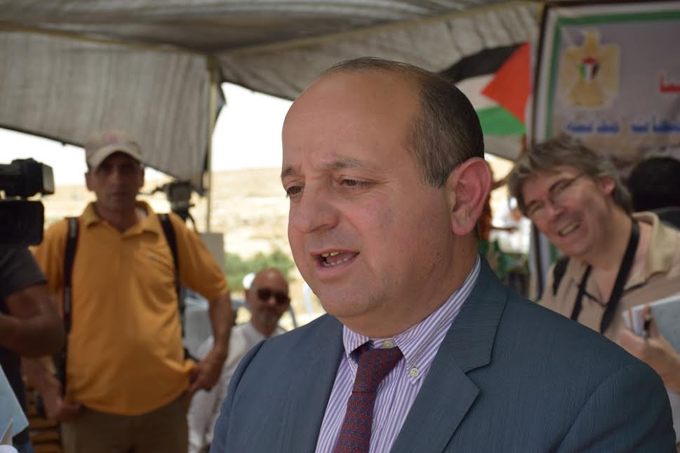 Head of EU Mission to Palestine John Gatt-Rutter. (photo: Michael Schaeffer Omer-Man)