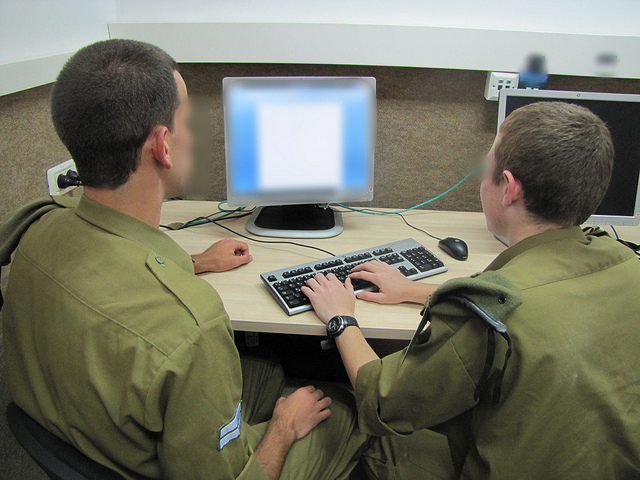 IDF soldiers participate in a cyber defense course. (IDF Spokesperson)