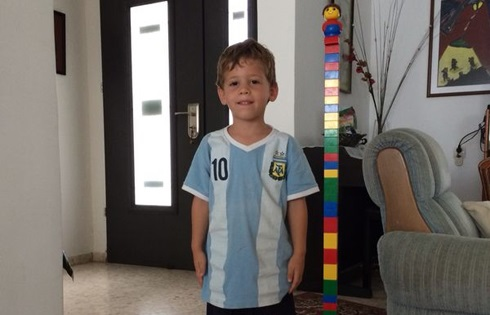 Daniel Tragerman, 4, from Kibbutz Nahal Oz, was killed by a mortar shell during a barrage of rocket fire from Gaza on August 22, 2014. He was the first and only child out of Israel's six civilian casualties during Operation Protective Edge.
