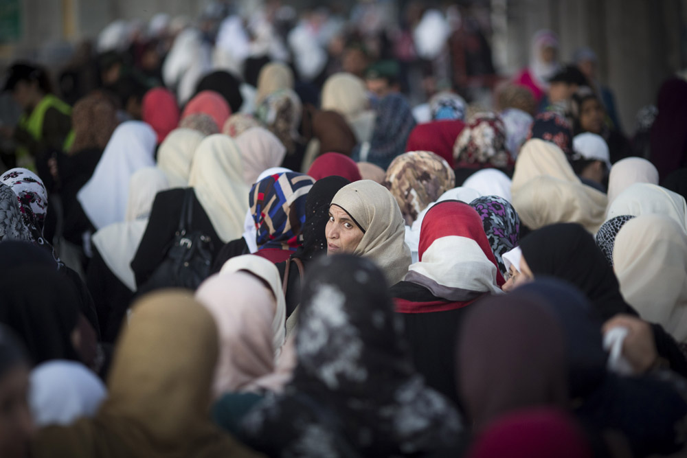 'I find myself looking for her. I scan crowds, looking for her familiar pink or Burberry-pattern hijab. As I pass women on the street, I look at their faces, waiting to see her green eyes.' (Photo by Activestills.org)