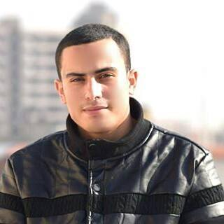 Ahmed Alanouq, 21, of Deir al-Balah, Gaza Strip. (Ahmed Alanouq)