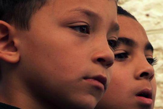 Publicity still for Danae Elon's documentary film, P.S. Jerusalem