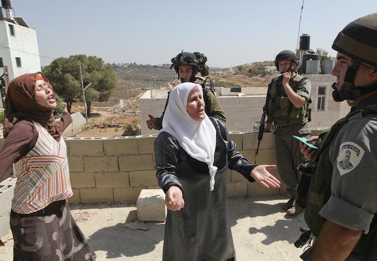 Nabi Saleh, 2010. (photo: Mati Milstein)