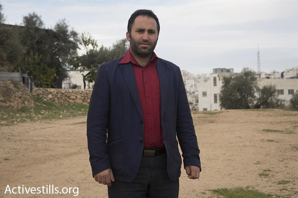 Palestinian nonviolent Issa Amro. (photo: Oren Ziv/Activestills.org)